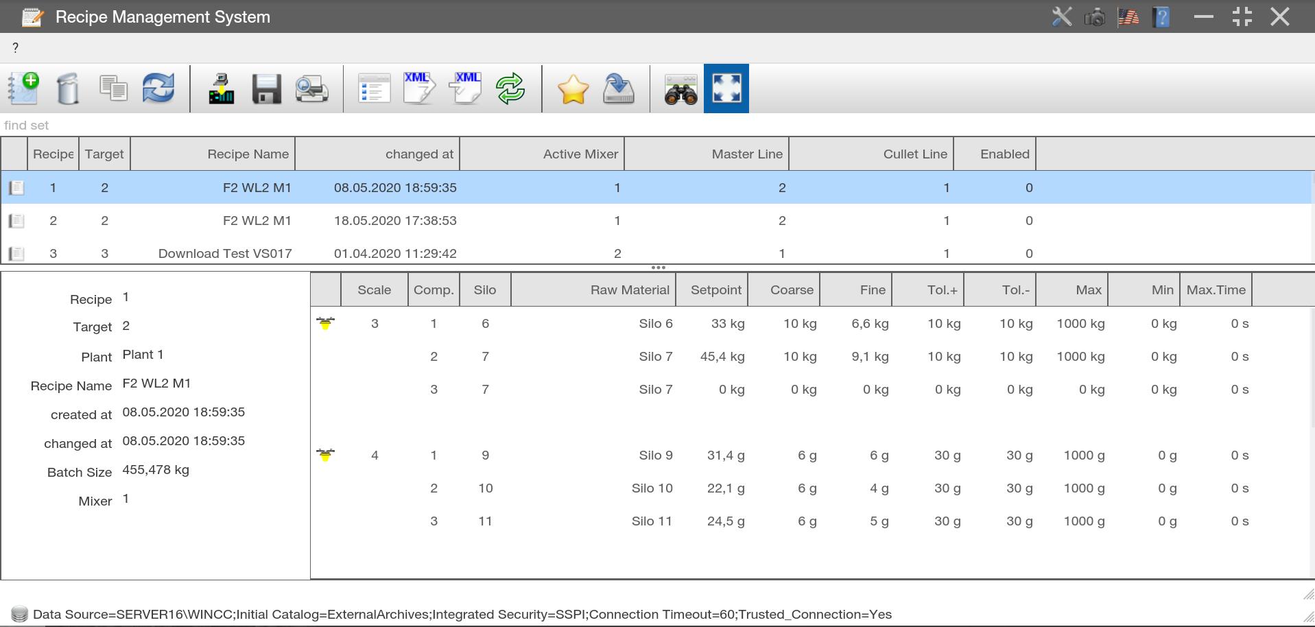 Wisej Rapid .NET Web Development - Case Study EME GmbH Screenshot